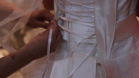 a wedding dress Footage