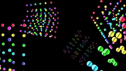 Dot Cube 4s as 1b 4 K Animation
