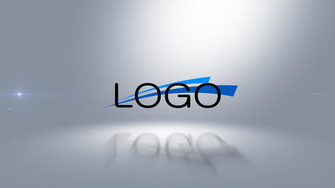Sliced logo Reveal After Effects Template