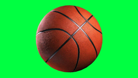 Basketball, Loop Seamless, Alpha Channel stock footage