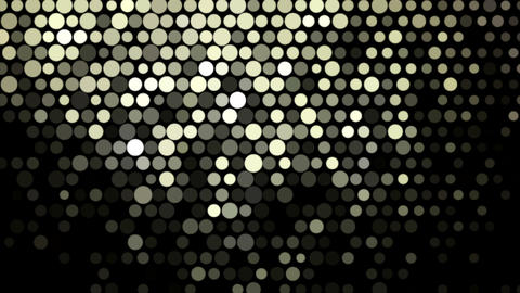 Golden Glowing Mosaic Abstract Background stock footage