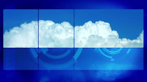 Timelapse Clouds Abstract Motion Background stock footage
