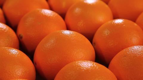 Beautiful oranges fruits Footage