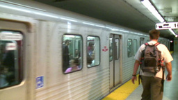 Toronto Underground Stock Video Footage
