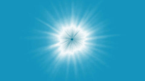 blue ray light.sun,star,particle,dream,god,beautiful Animation