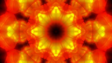 Gorgeous flower lotus fancy pattern like as fire.Buddhism... Stock Video Footage