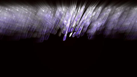abstract blue ray and light,web tech... Stock Video Footage