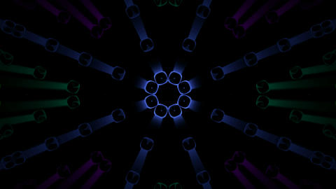 shine disco light,color metal... Stock Video Footage