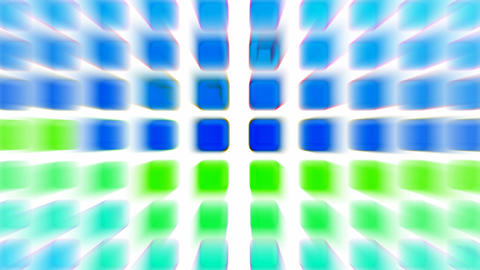 color rectangle matrix disco... Stock Video Footage