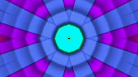 color circle disco interface,ripple pulse light... Stock Video Footage