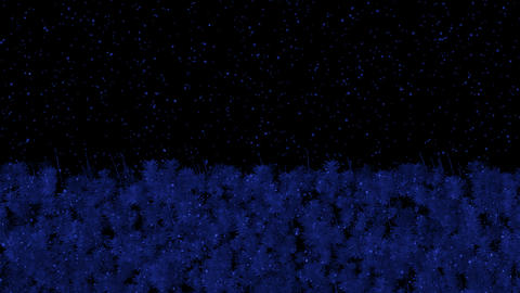 Falling rain and forest at night.pattern,symbol,dream,vision,idea,creativity,vj,beautiful,art,decora Animation