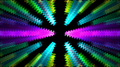 color dentate ray light,power magnetic field,dentate... Stock Video Footage