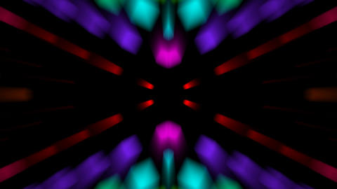 color disco neon rays... Stock Video Footage