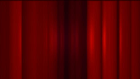 red stage curtain,metal... Stock Video Footage