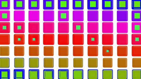 glint rectangle matrix disco background.light,square,texture,animation,color,rainbow,squares,colorfu Animation