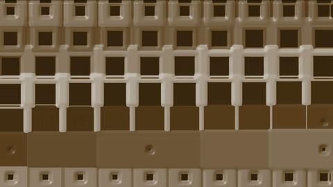 brown rectangle matrix,chocolate.pattern,luster,element,ray,rhythm,array,texture,mosaics,square Animation