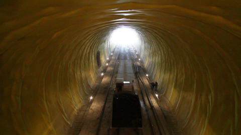 Tunnelling 11 Stock Video Footage