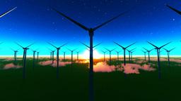 Wind turbine Stock Video Footage