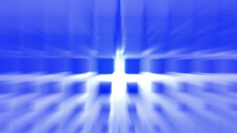 blue smooth grid ray light,computer tech... Stock Video Footage