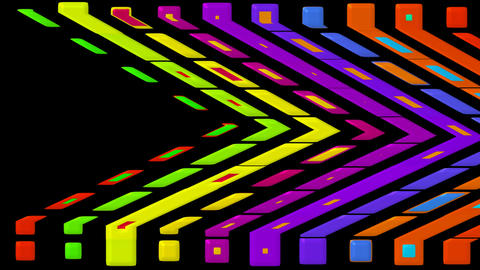 color distortion mosaics... Stock Video Footage