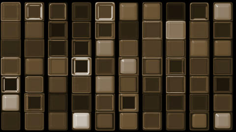 brown rectangle matrix,chocolate.luster,element,ray,rhythm,array,texture Animation
