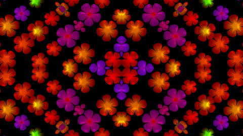 flower pattern,wedding... Stock Video Footage