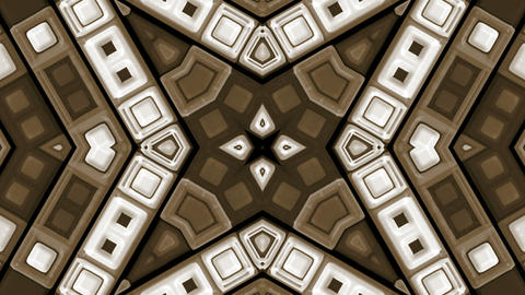 brown deform mosaics background.rays,structure,pulse,ripple,disco,electronic Animation