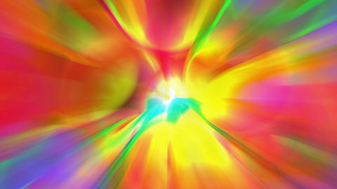 Abstract dazzle color rays... Stock Video Footage