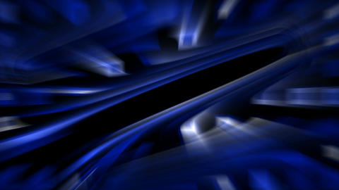 abstract blue ray light in 3d space,computer web tech... Stock Video Footage
