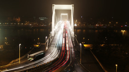 European City at Night Timelapse 34 Stock Video Footage