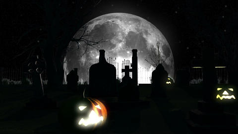 Halloween DOLLY 03 Stock Video Footage