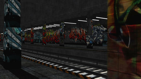 Subway 03 neutral Stock Video Footage