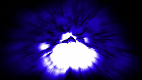 Nuclear Blast,explosion,blue... Stock Video Footage