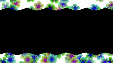color wild flower lace.floral,petals,romance,valentine Animation