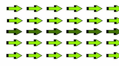 moving green arrows.click,connection,cursor,design,direction,icon Animation
