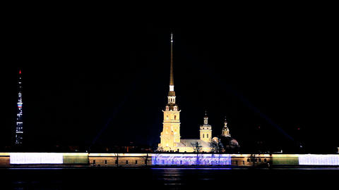 Peter and Paul Cathedral Stock Video Footage