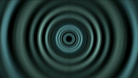 Time Tunnel,rotation circle light trails in 3D... Stock Video Footage