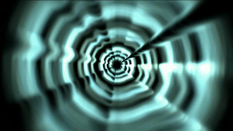 Time Tunnel,rotation laser trails in 3D... Stock Video Footage