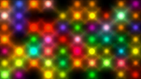 Color circle neon matrix,disco... Stock Video Footage