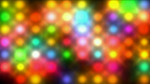 Color circle matrix, disco... Stock Video Footage