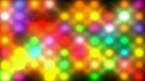 Color circle matrix, disco... Stock Video Footage