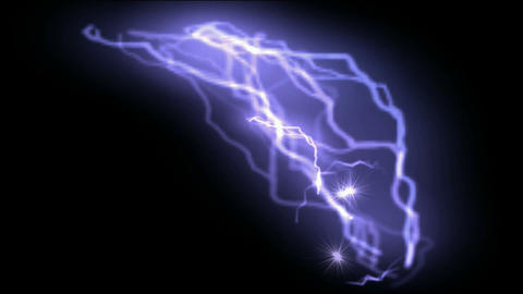 Lightning,silk,nerves,neurons,thunderstorms,weapons,elect... Stock Video Footage