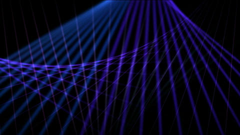 Blue motion grid light in... Stock Video Footage