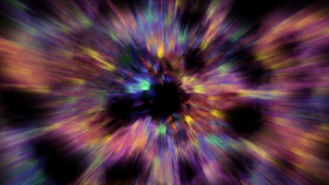 abstract purple flower pattern and blur... Stock Video Footage