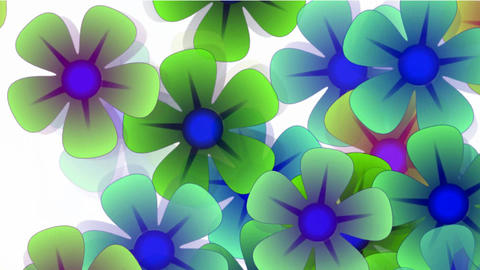 color wild flower flow background.Vegetables,bloom,Park,garden Animation