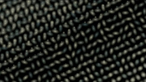 Animation of metal dots... Stock Video Footage