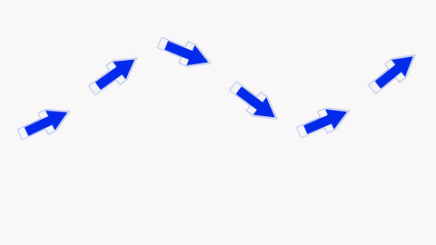 moving blue arrows.click,connection,cursor,design,direction,icon Animation