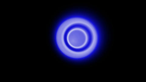 blue circle... Stock Video Footage