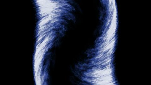 blue fire,like as tornado... Stock Video Footage