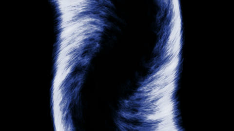 blue fire,like as tornado shape.Tornadoes,hurricanes,cyclones,fans,wind,particle Animation